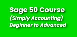 Best Sage 50 Course - Simply Accounting Training - Continuing Education