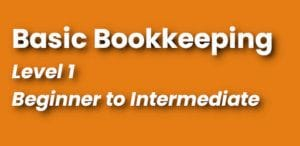 Bookkeeping Course Level 1 Continuing Education