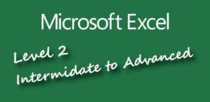 Microsoft Excel Course Level 2 Intermediate Excel Course